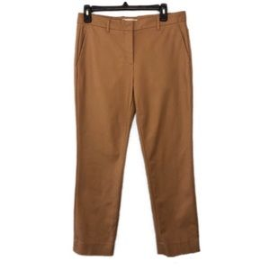 Gap Tailored Tan Crop Ankle Khaki Chino Pants